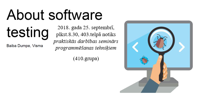 about software testing